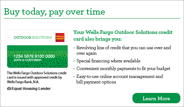 Wells Fargo promotion image that links to the Wells Fargo website so a customer can apply for promotional financing.