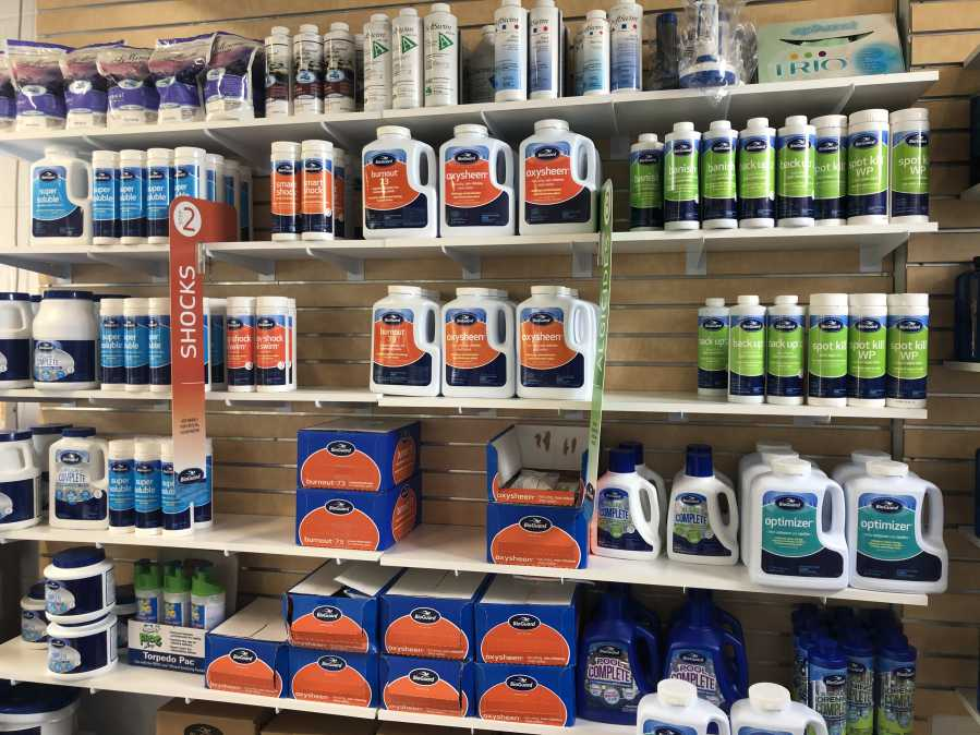 Rin Robyn Pools has to wide selection of BioGuard pools chemicals