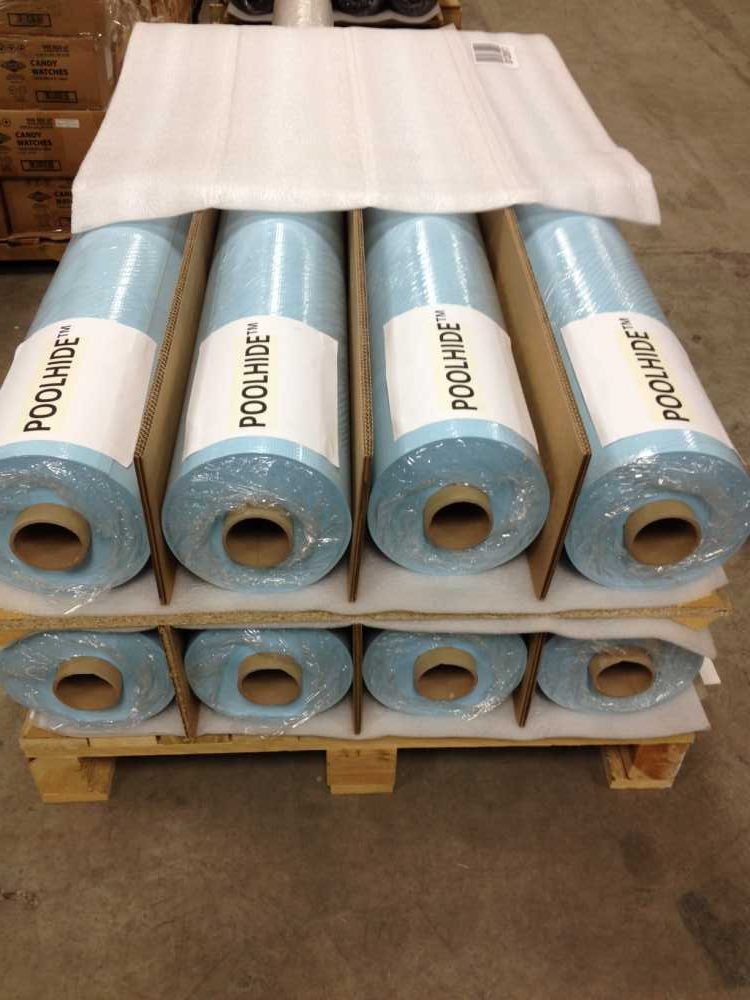 PoolHide® PCV Membrane comes in rolls and many colors.